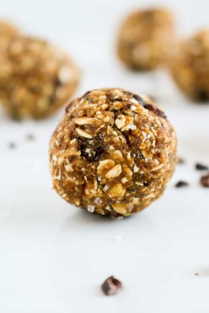 No-Bake Salted Caramel Energy Bites - Unsweetened Caroline-1016