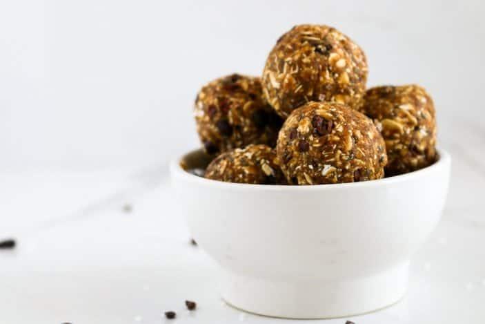 No-Bake Salted Caramel Energy Bites