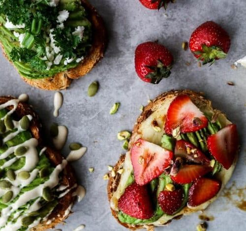 Simple Avocado Toasts