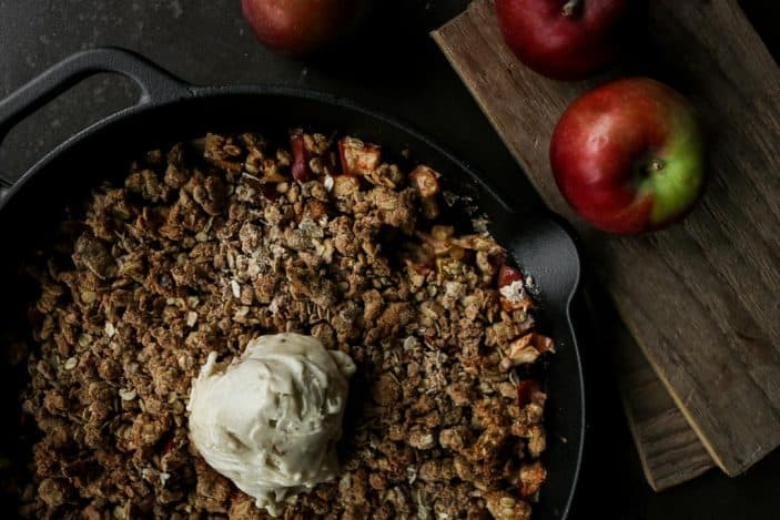 The Best Sugar-Free Apple Crisp