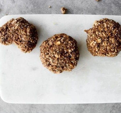 Hearty Oatmeal Breakfast Cookies (Nut-Free & Sugar-Free!)