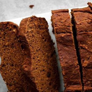 Pumpkin Bread (Gluten-Free, No Added Sugar)