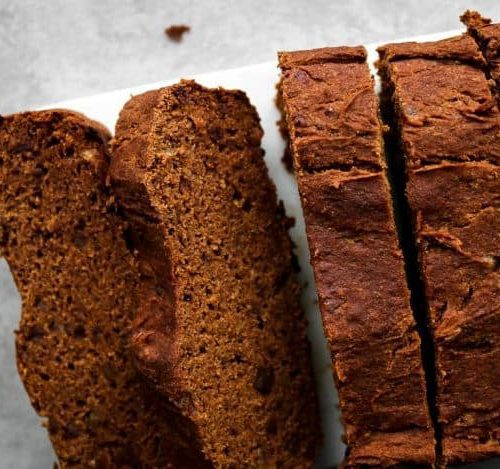 Pumpkin Bread (Gluten-Free, No Added Sugar)
