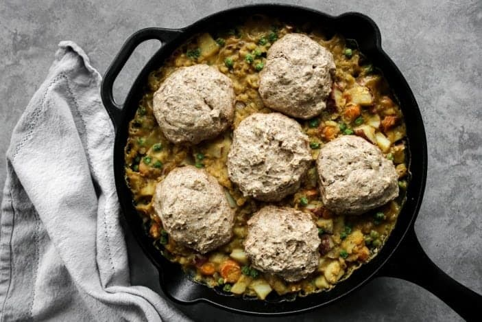 Vegetarian Lentil Pot Pie