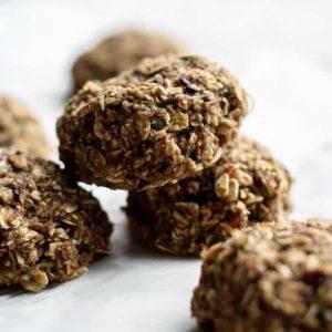 Chewy Oatmeal Zucchini Cookies