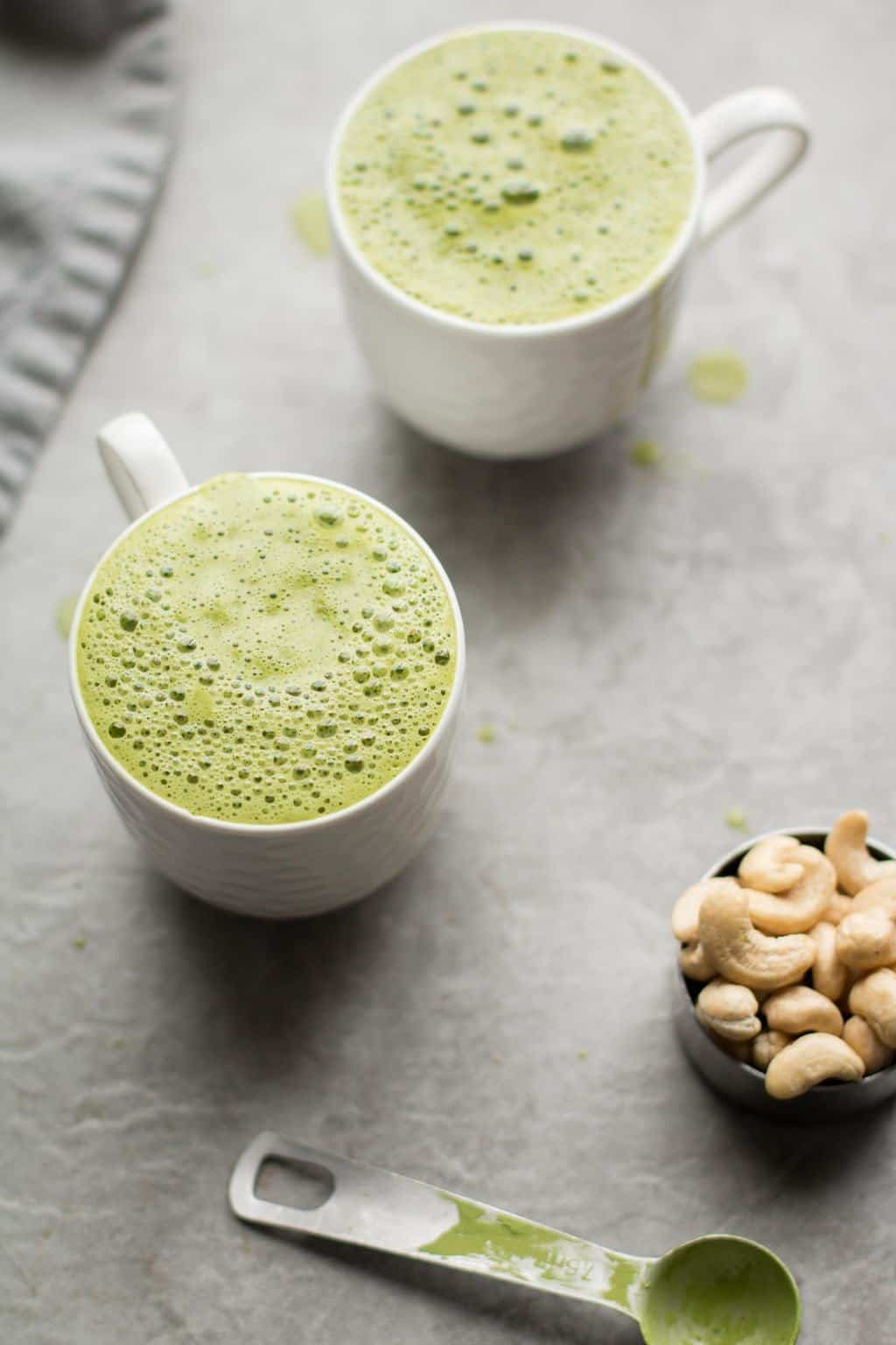 Matcha Mint Latte