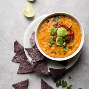 Vegan Loaded Queso Dip
