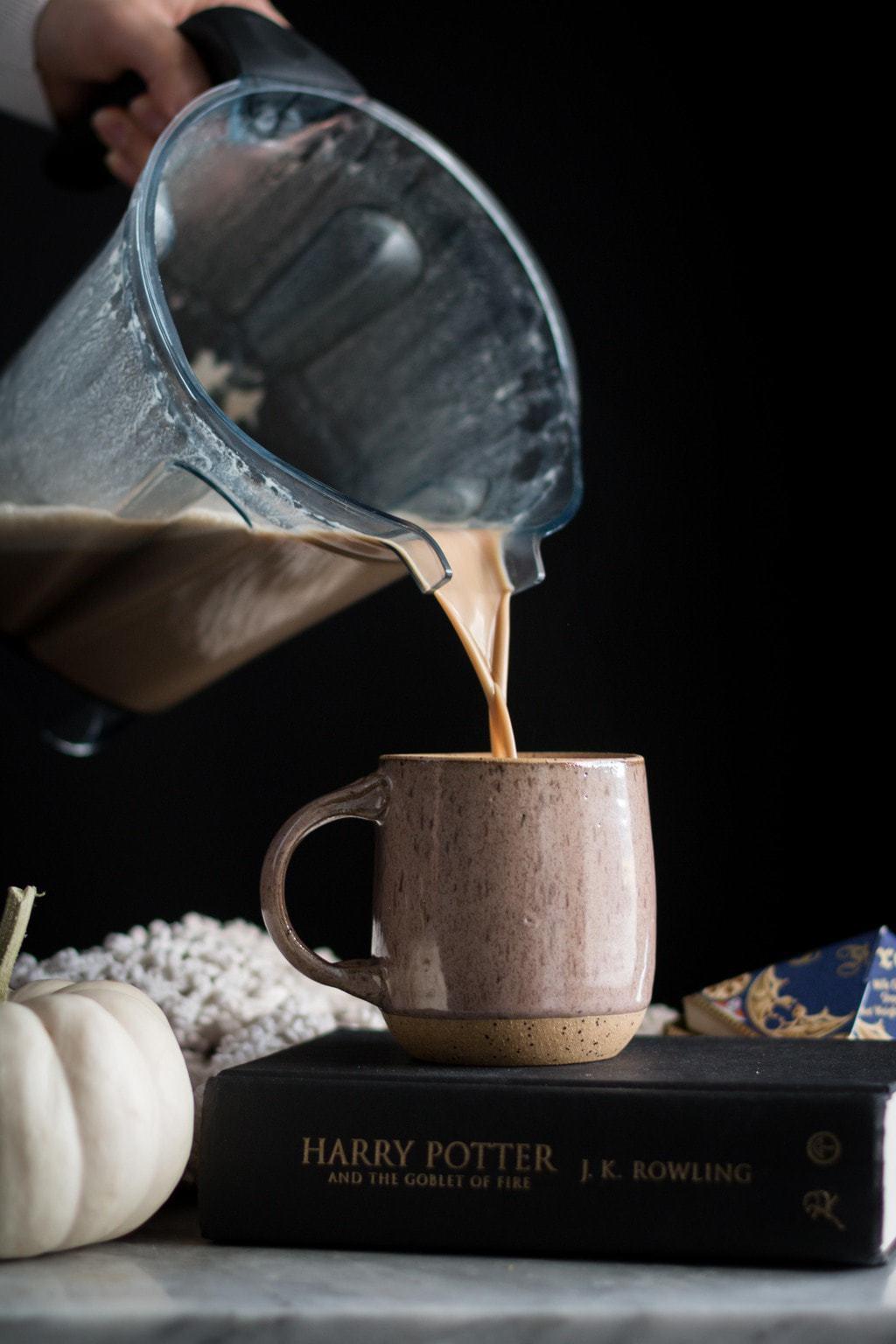 Cinnamon Butterbeer Latte
