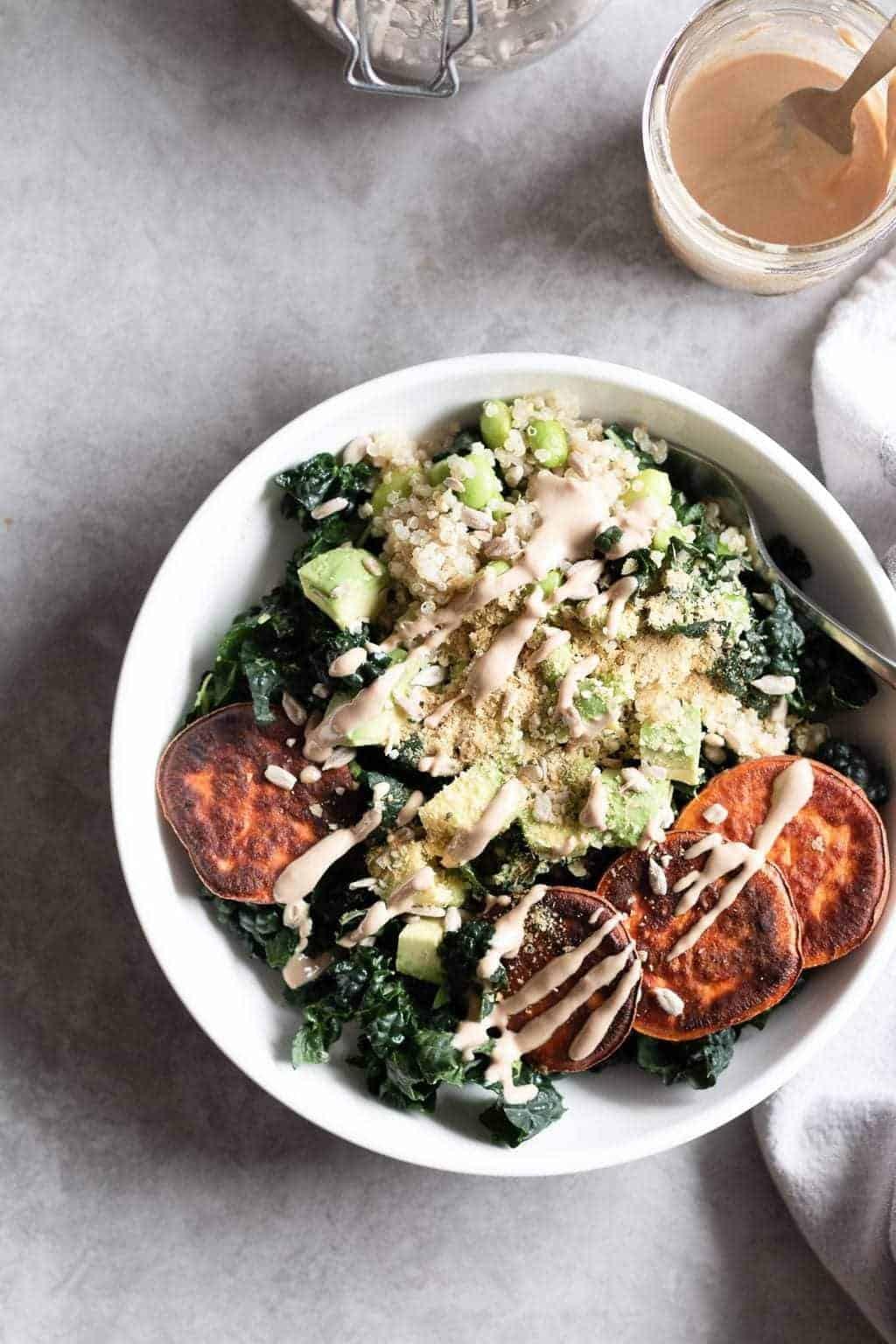Nourishing Protein Quinoa Bowl