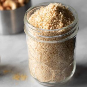 3-Ingredient Vegan Parmesan Cheese