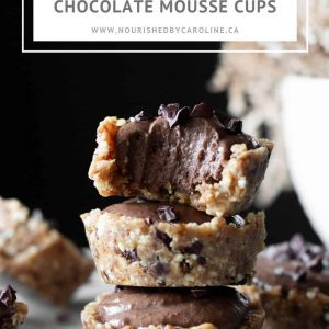 chocolate mousse cups pin