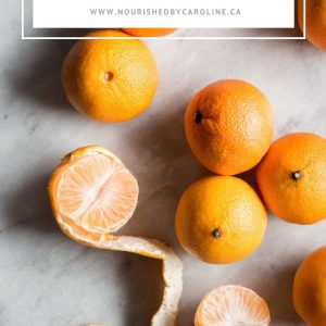 clementine healthy snack ideas pin