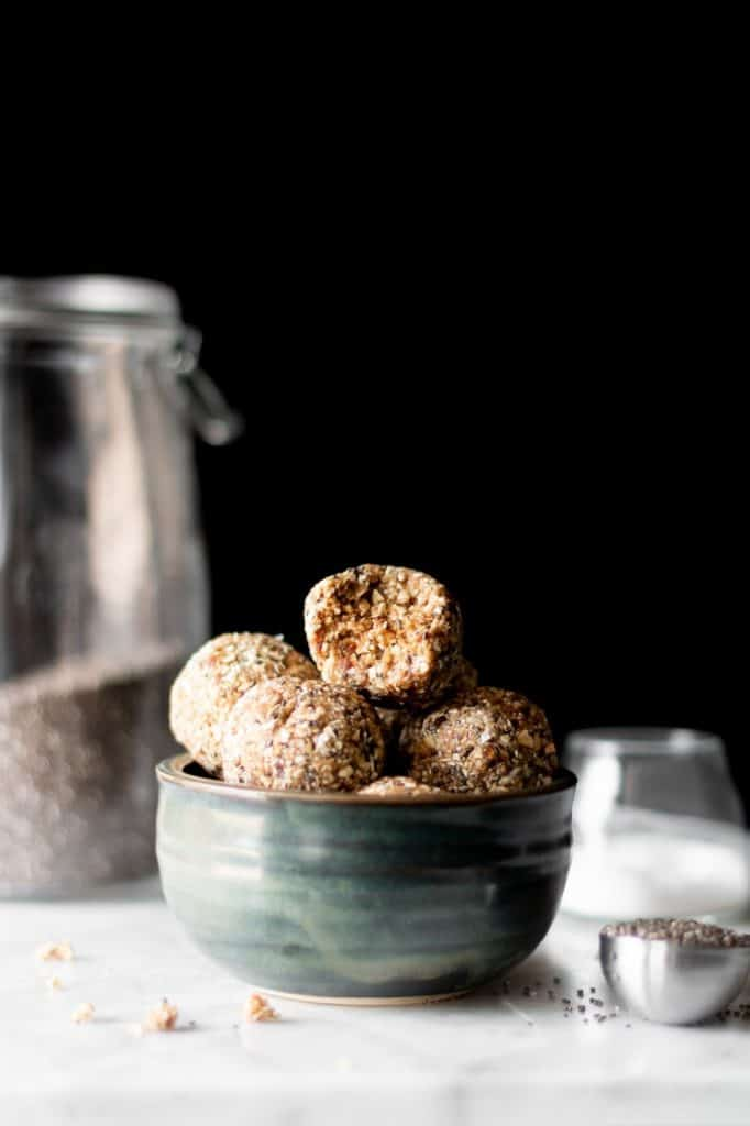 Salted Caramel Energy Bites - last coffee break