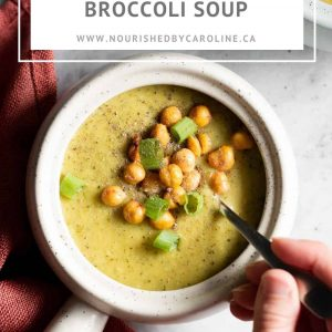 broccoli soup pin