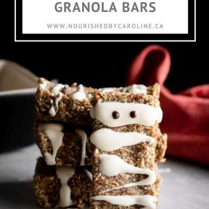mummy granola bars pin