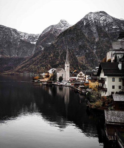 Hallstatt, Austria mountains