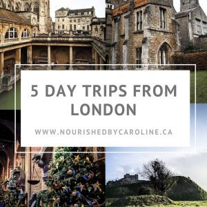 day trips from London pin