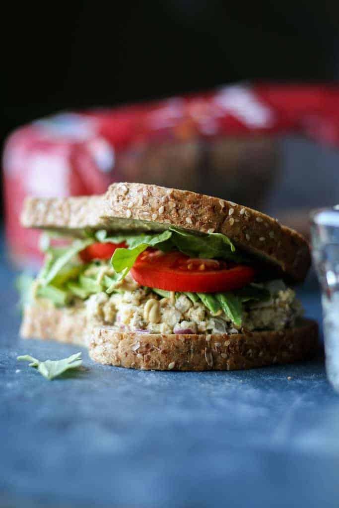 sandwich and bread bag