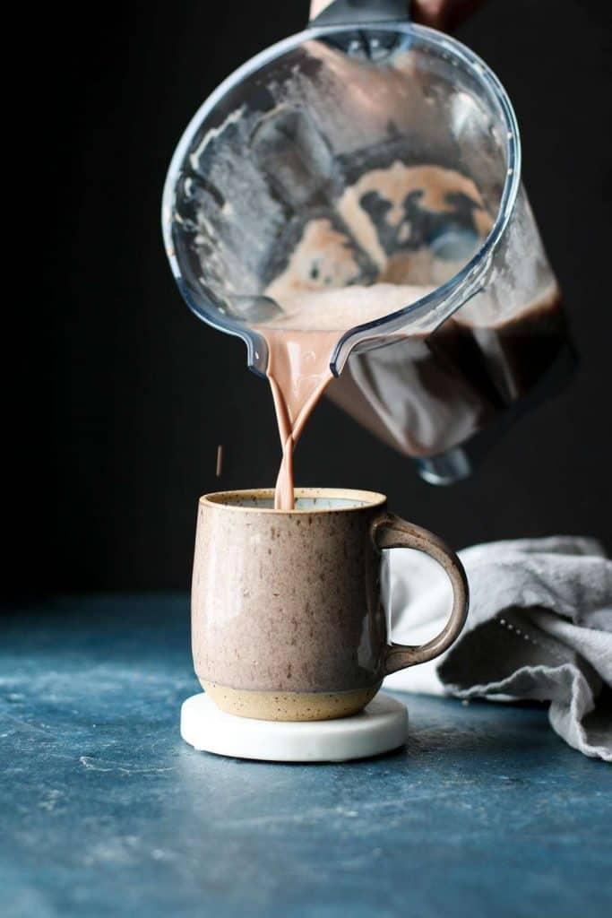 peanut butter hot cocoa pour shot