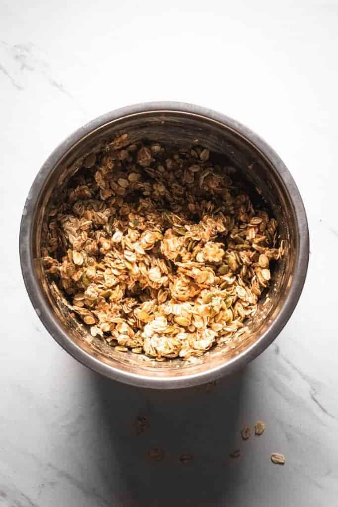 granola mixture