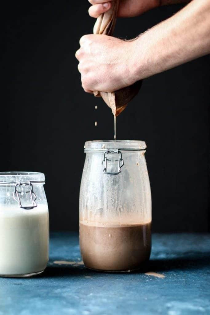 pantry staples hemp milk