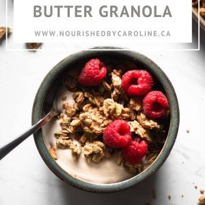 granola Pinterest pin