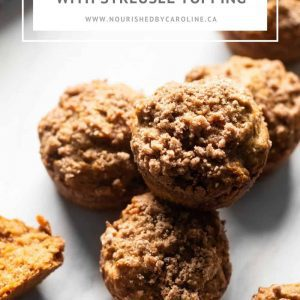 maple carrot muffins pin