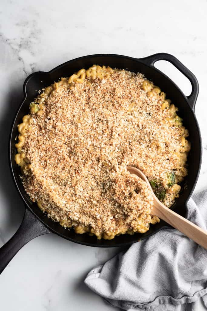 Simple Baked Vegan Mac and Cheese