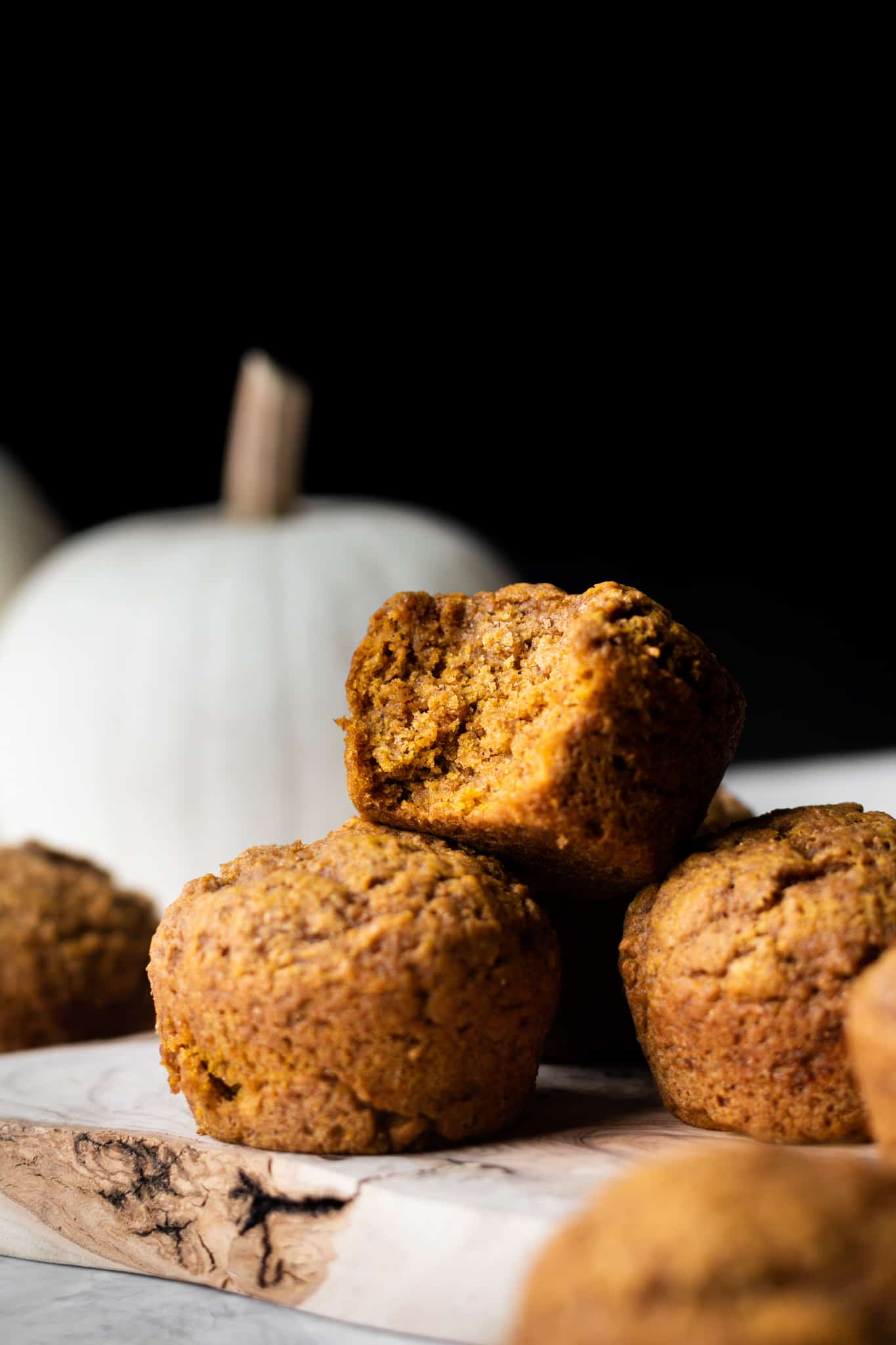 Easy Vegan Pumpkin Muffins